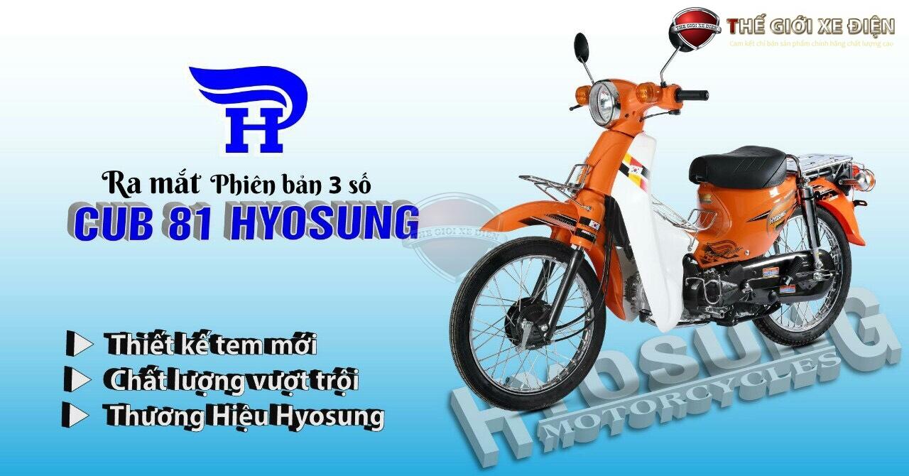 cub hyosung 50cc