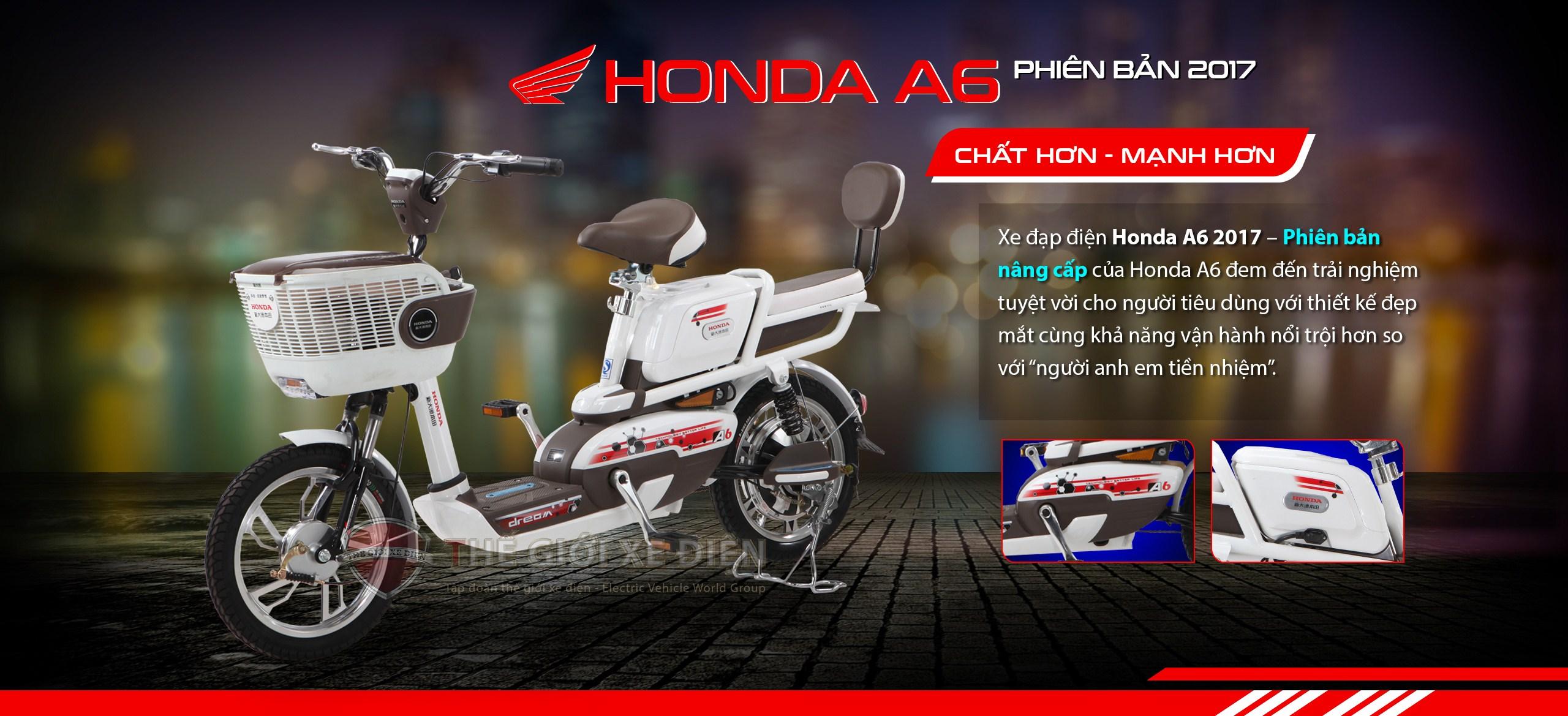 Những điểm mạnh từ chiếc xe điện Honda A6