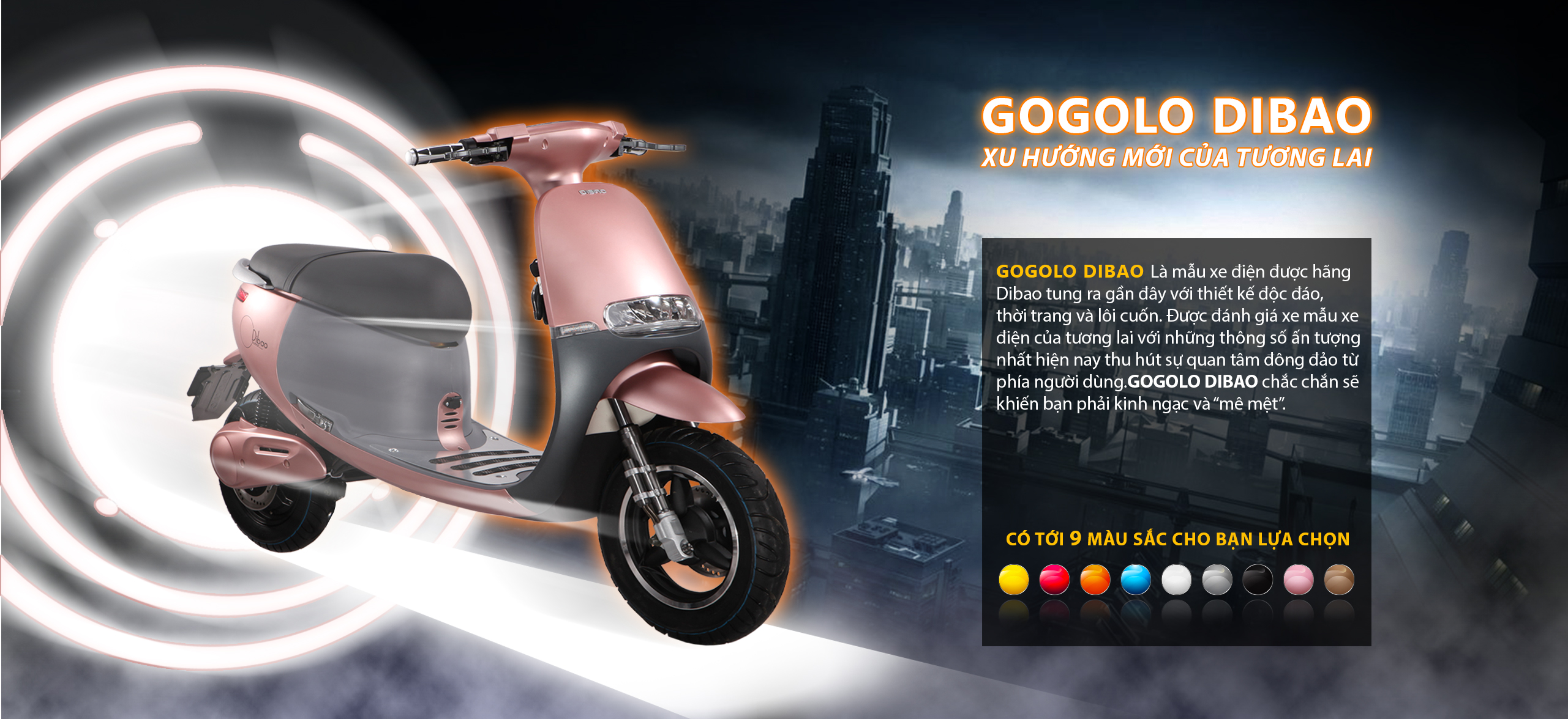 Xe điện Gogolo Dibao và những công dụng tuyệt vời