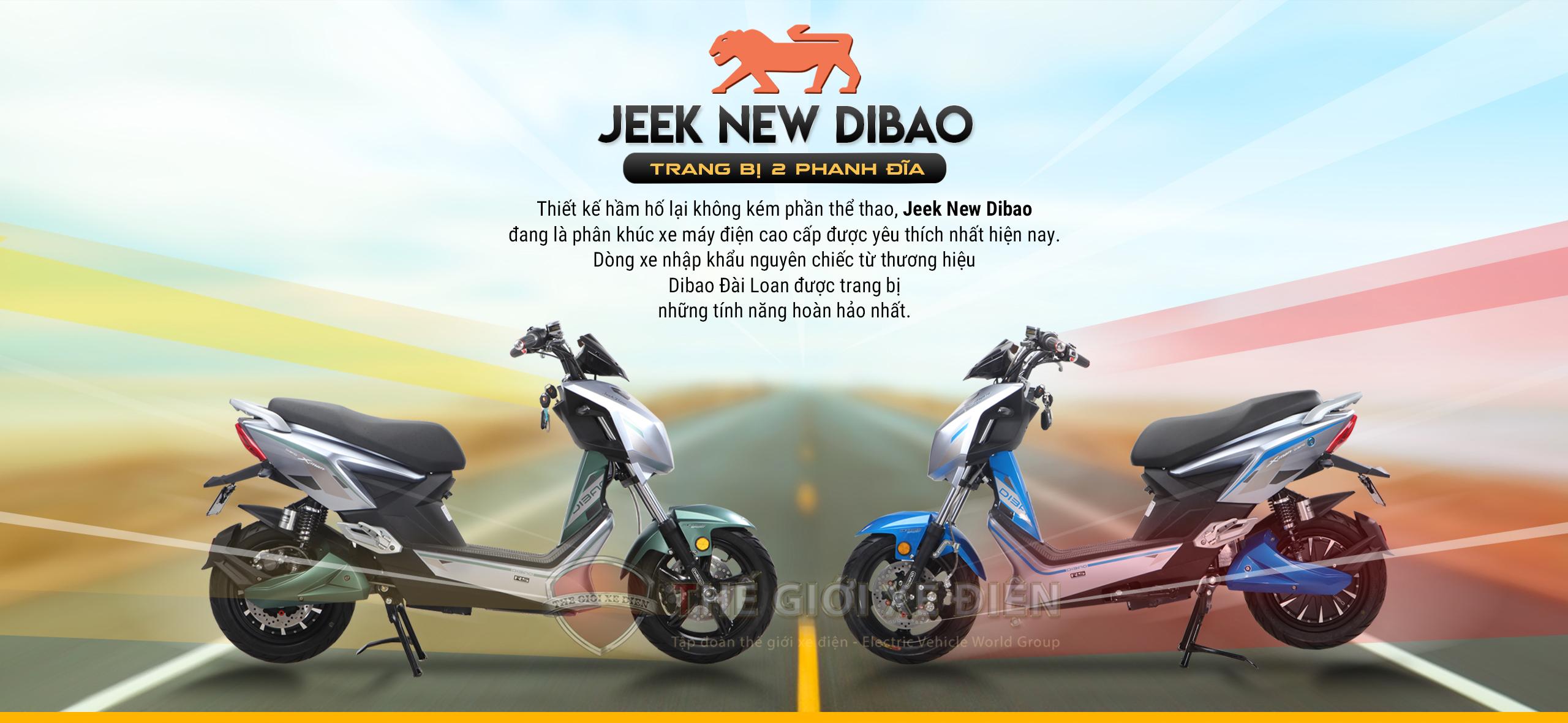 Xe điện Jeek New Dibao