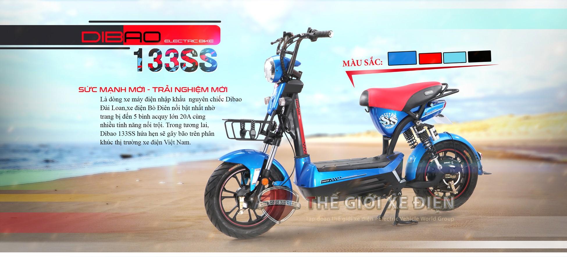 Dibao 133SS chiếc xe điện với thiết kế đẹp mắt