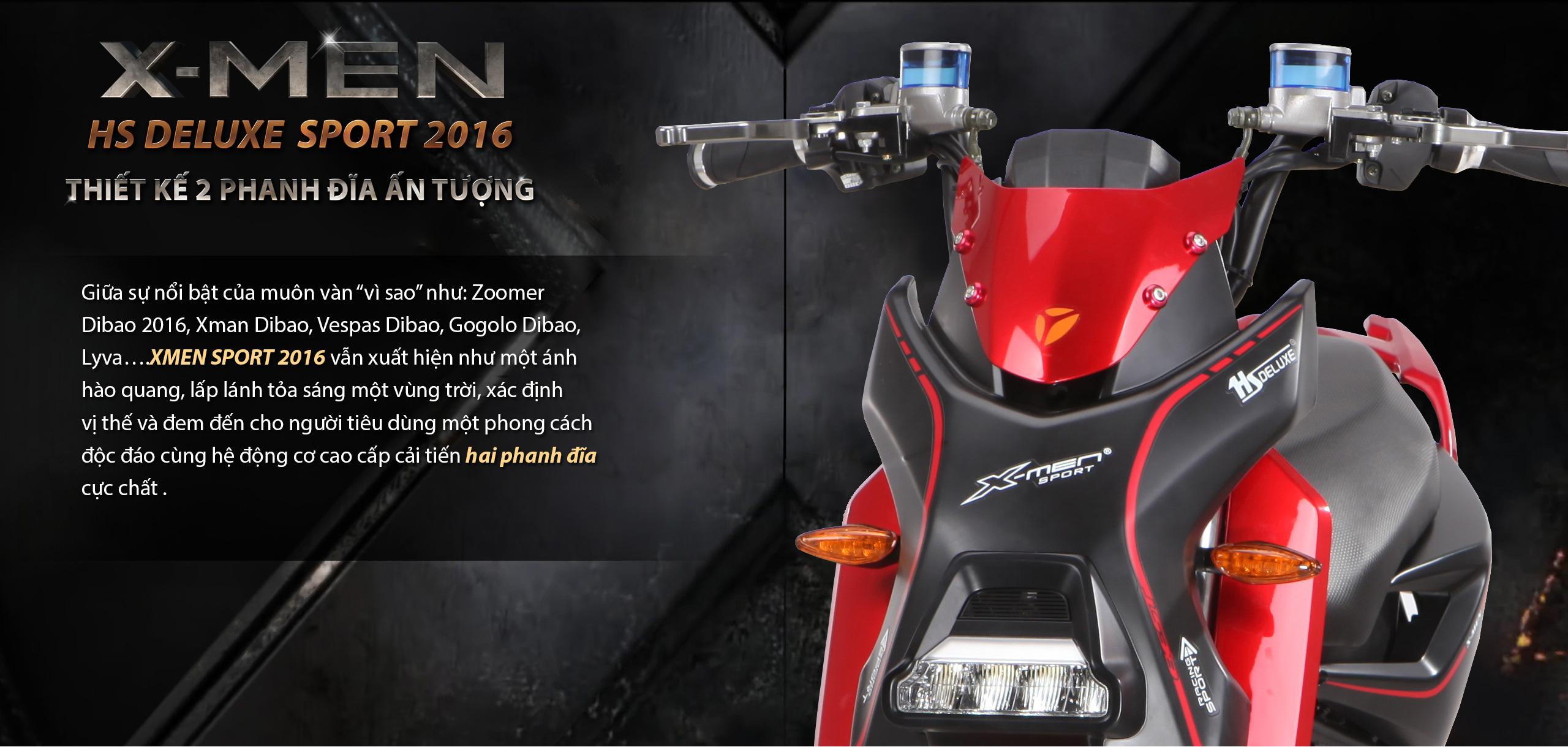 Xe điện Xmen Sport Chiến mã dành cho người dẫn đầu