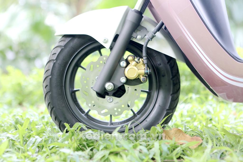 phanh đĩa trước xe máy điện honda vsun v2