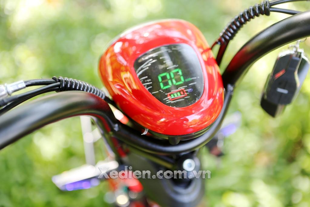 đồng hồ hiển thị xe đạp điện htbike h9