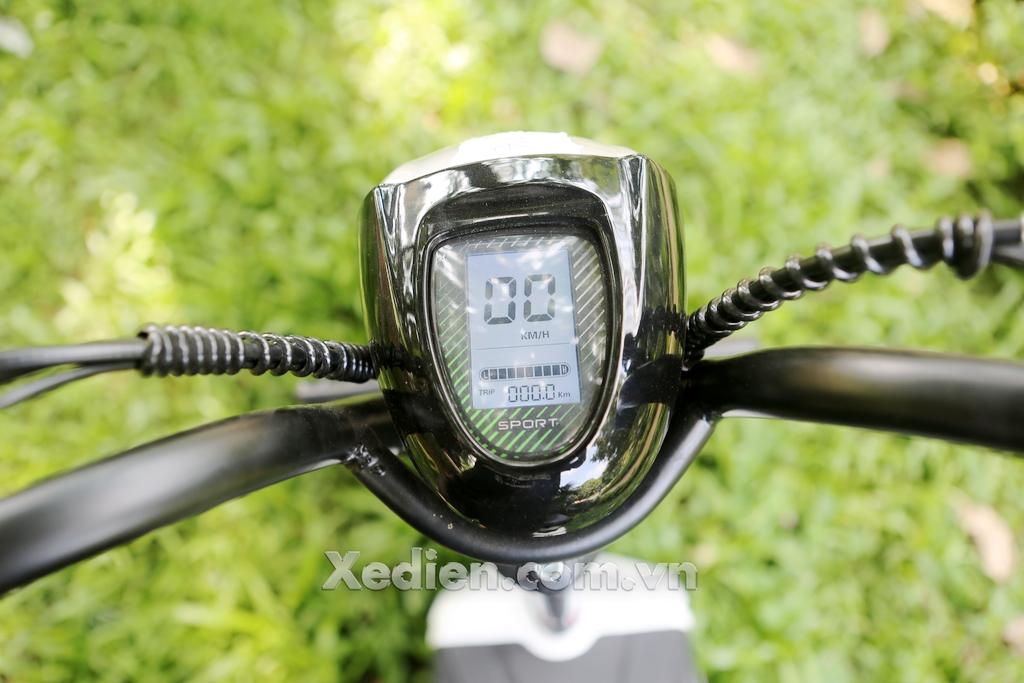 xe điện htbike h9 mặt đồng hồ