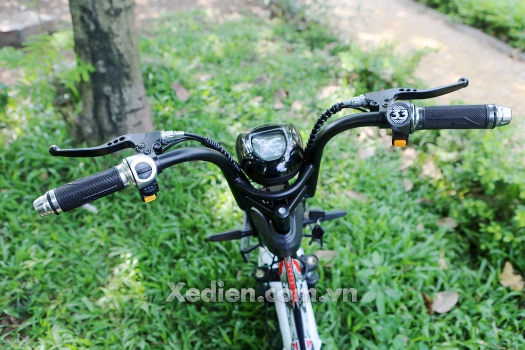 tay lái xe điện htbike h9