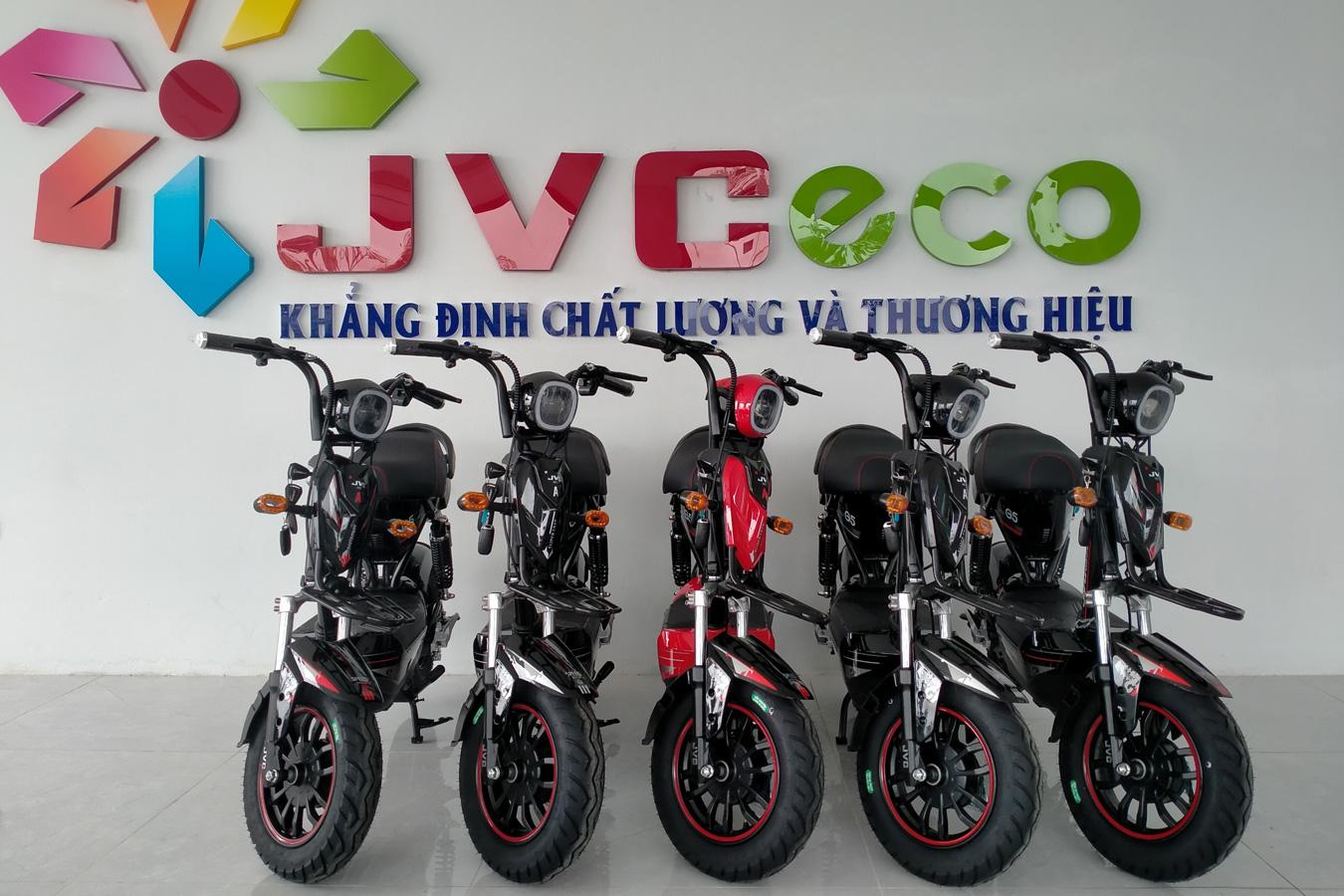 xe đạp điện jvc g5