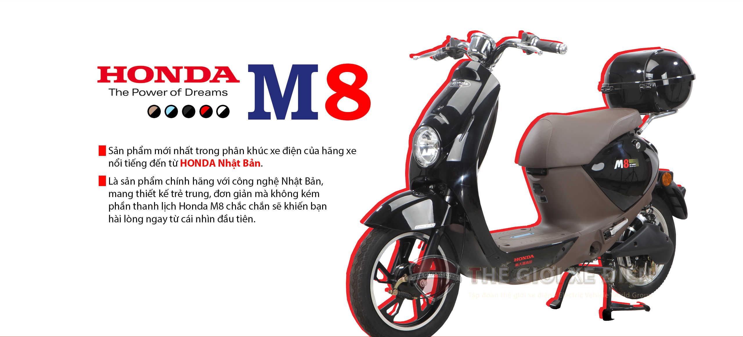 xe đạp điện honda m8