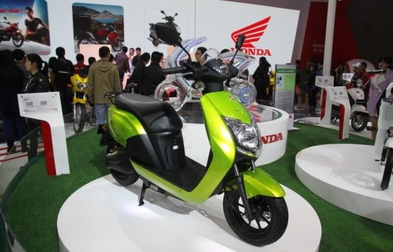 Xe máy điện Honda đã trở lại việt nam