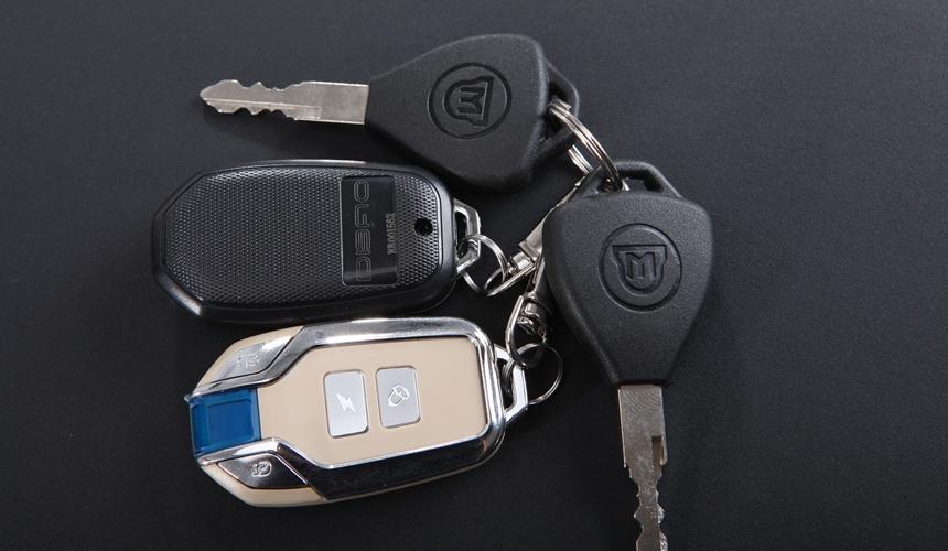 Chìa khóa xe điện Xman Dibao