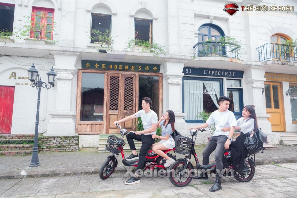 Xe đạp điện Bền Bỉ và Tiện Dụng - JVC Q7