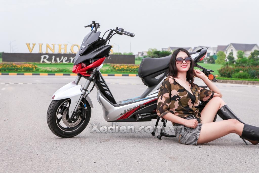"""Xe máy điện Aima Jeek – """"Con quái thú"""" của hãng xe Đài Loan"""