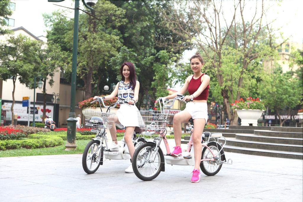 Bridgestone SLI48 - Xe đạp điện phù hợp với mọi lứa tuổi