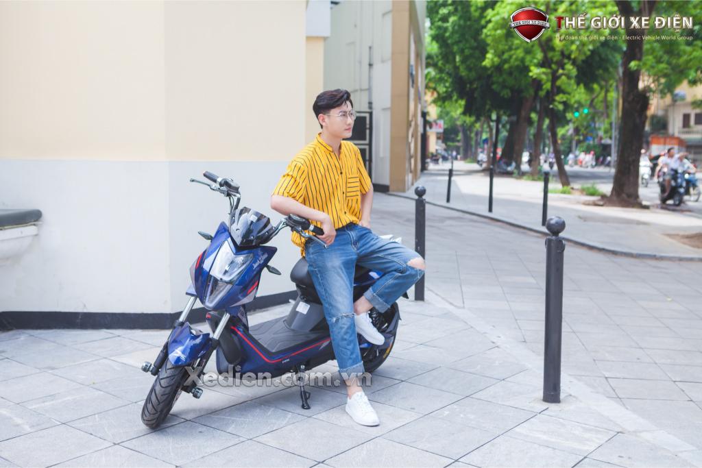 xe máy điện nhập khẩu Jeek New Dibao