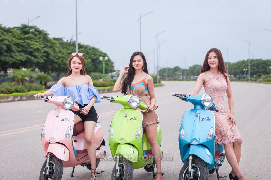 TOP những mẫu xe điện Dibao làm phái đẹp say mê