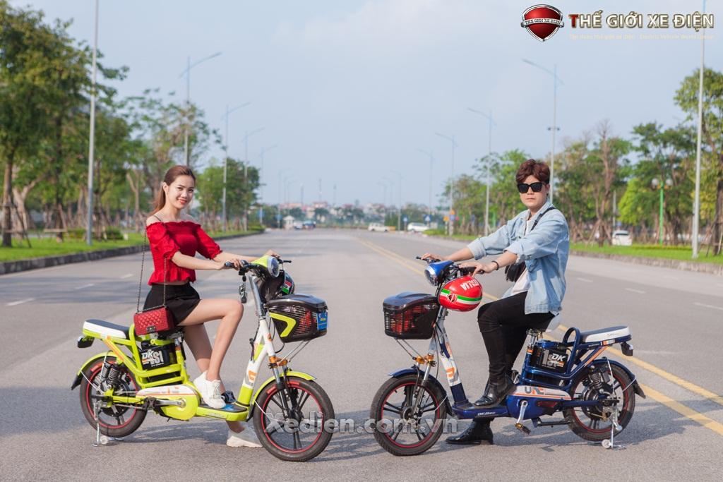 Xe đạp điện DK