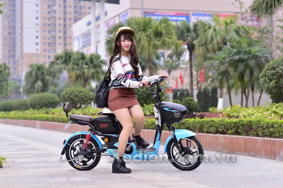 Xe đạp điện honda M6 – Thiết kế trẻ trung năng động