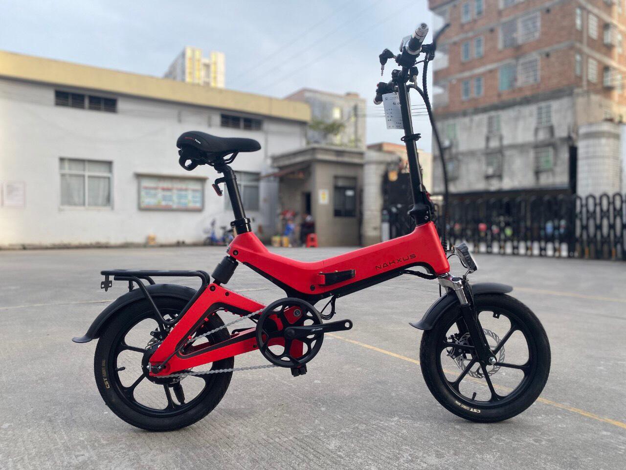 xe đạp điện gấp 2020 Nakxus