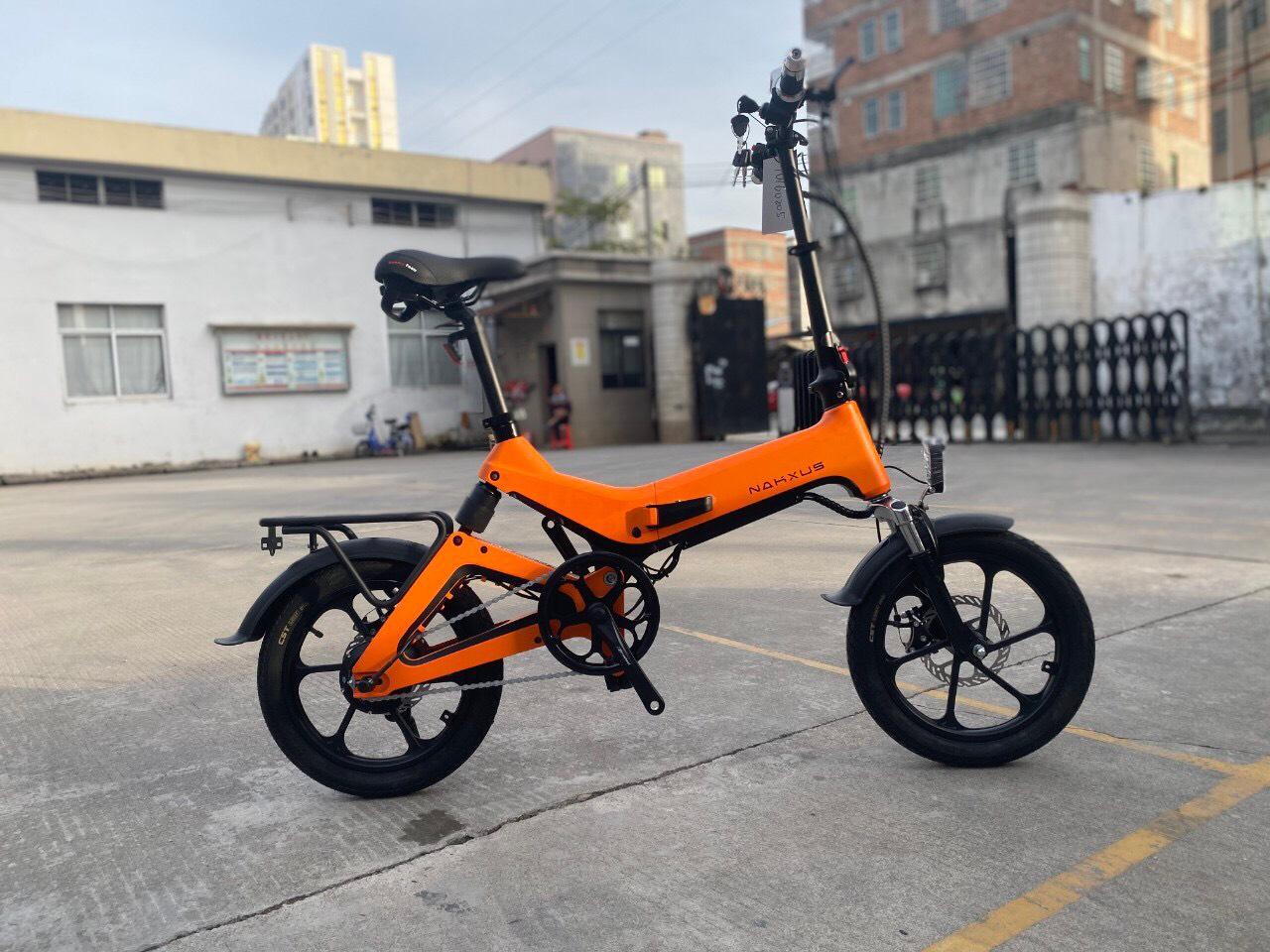 xe đạp điện gấp gọn nakxus