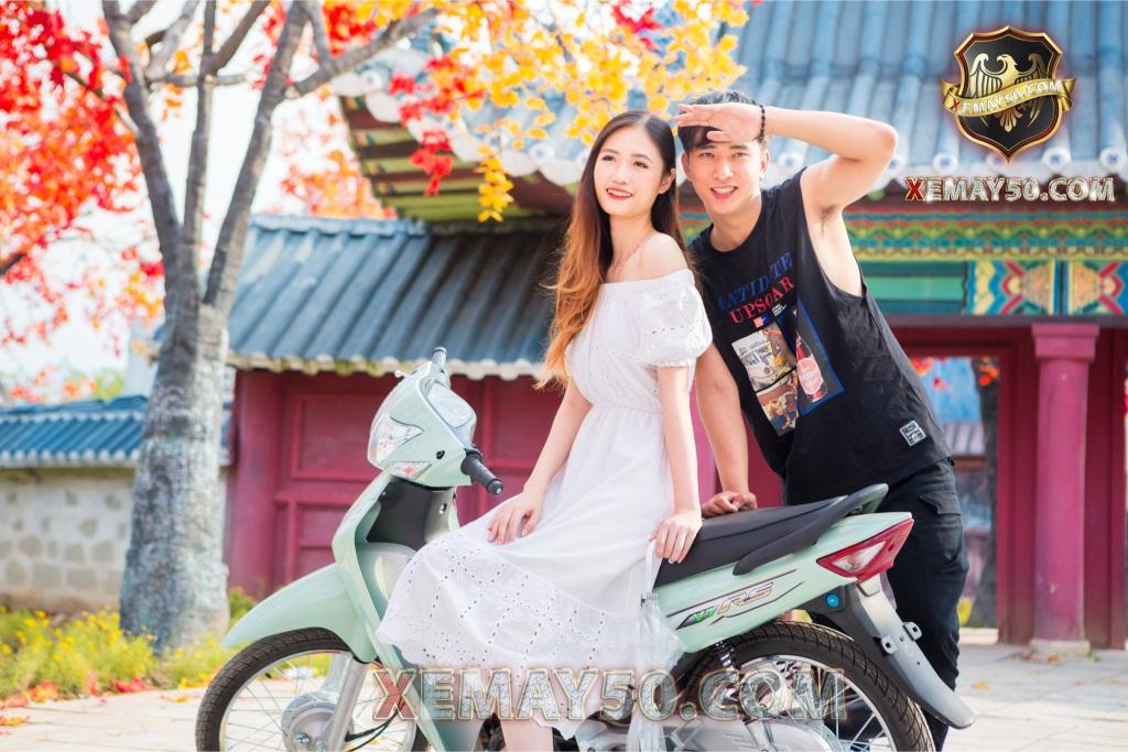 Xe máy 50 wave Việt Thái