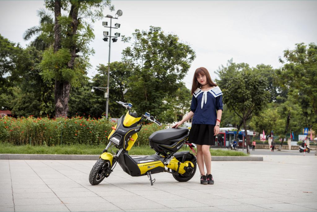 Xe máy điện Xmen yadea 5 trẻ trung và mạnh mẽ
