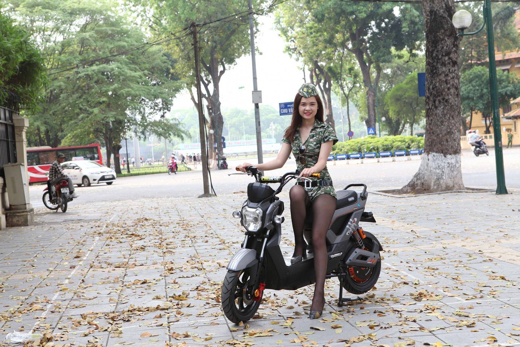 Xe máy điện Zoomer Dibao - Sự hoàn hảo