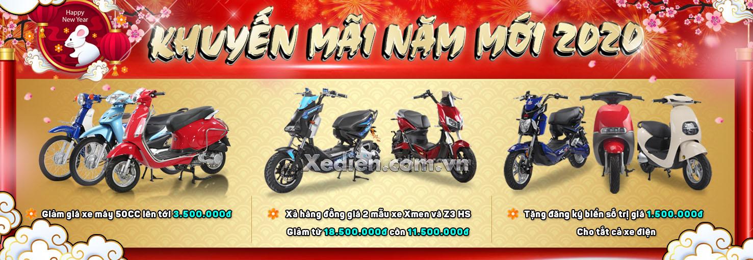 khuyến mãi lớn khi mua xe đạp điện xe máy điện