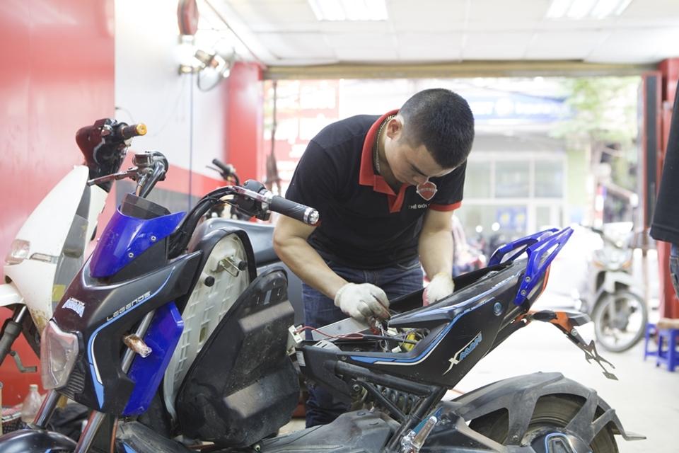 Sửa chữa xe điện miễn phí 100% tại Thế Giới Xe Điện - 330 Khâm Thiên